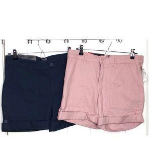 Jones New York•Set of 2 Utility Shorts Size 8